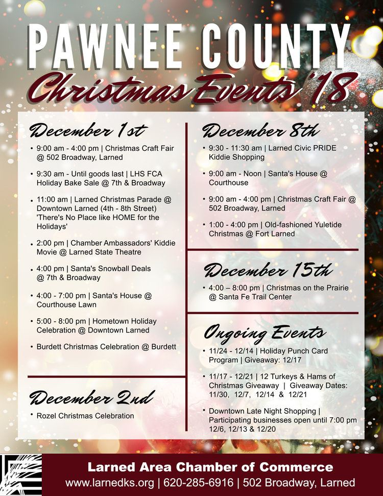 ChristmasEvents Poster