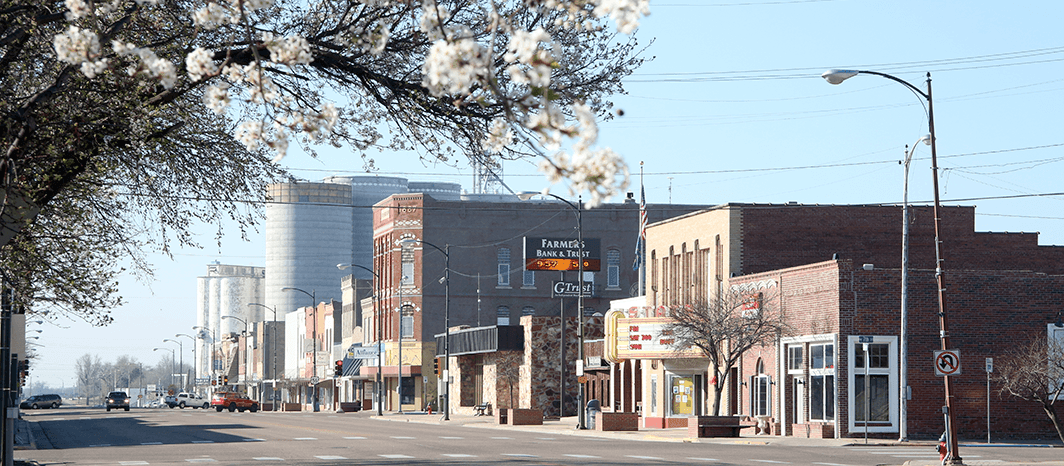 Downtown Larned