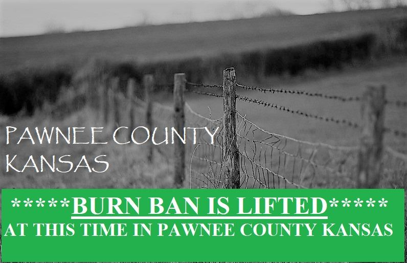 BURN BAN LIFTED BIG LETTER